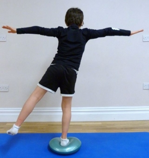 balance exercise children