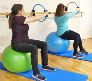 ante-natal pilates rotation